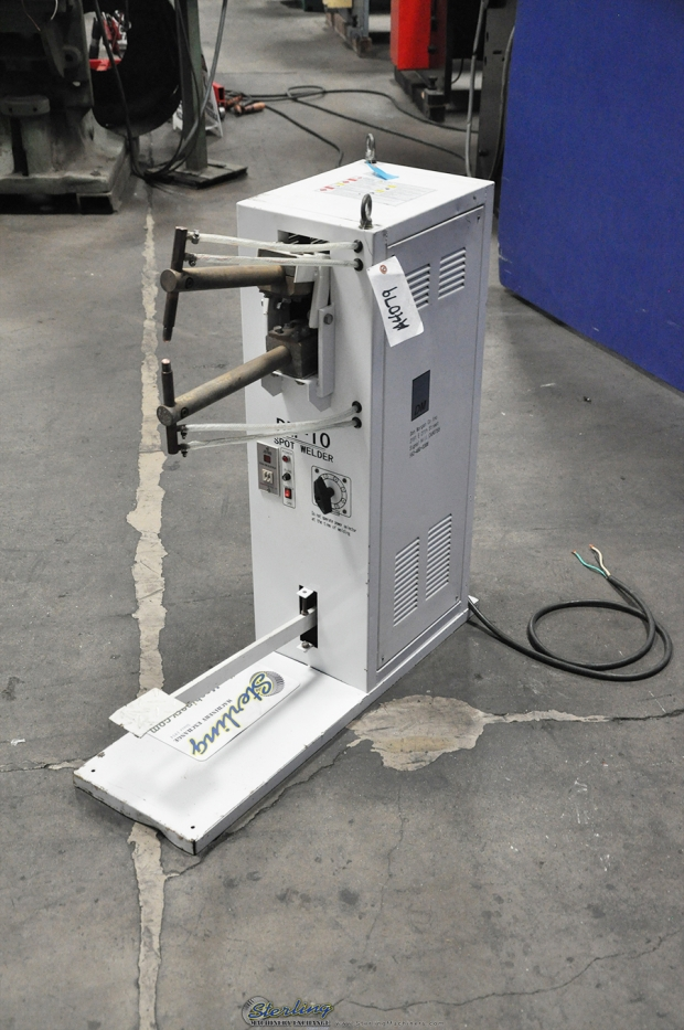 "10 KVA x 11"" Used Don Morgan Spot Welder, Mdl. DM-10 ..."