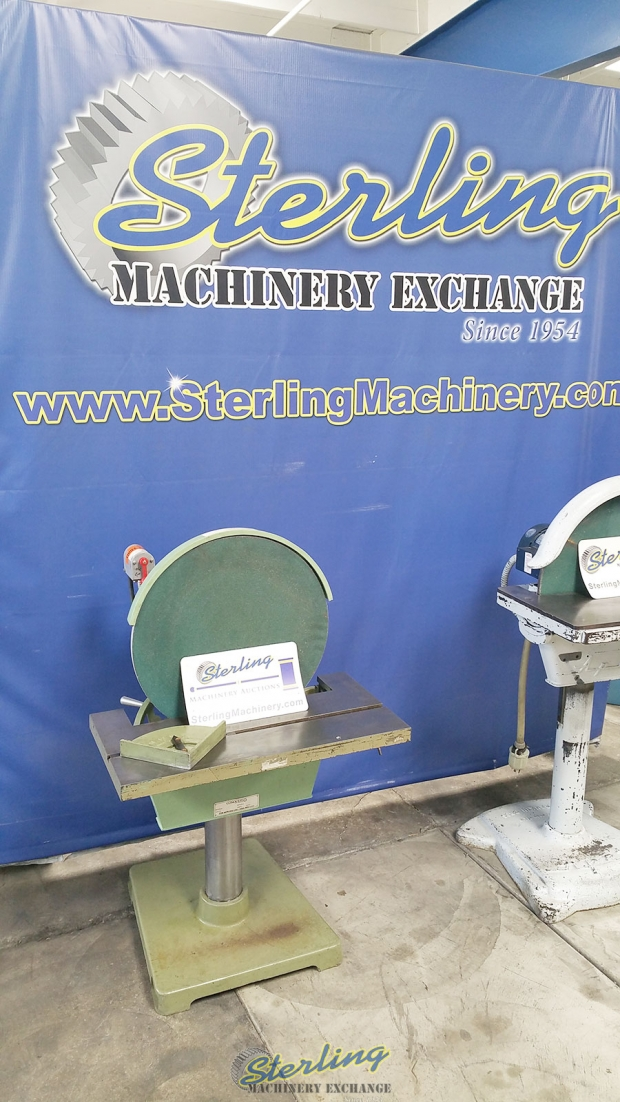 20 Quot Used Conquest Disc Grinder Mdl 20 Arch Table