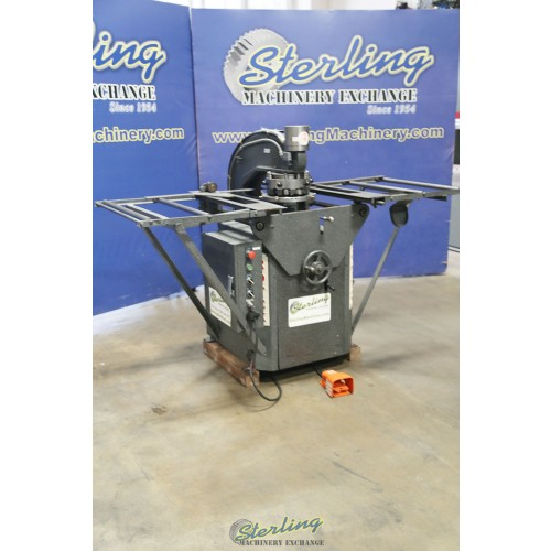 Used Rotex Hydraulic Turret Punch With Manual Setup Table 18BCH