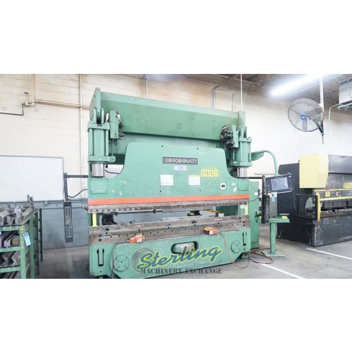 230 Ton x 12' CNC Hydraulic CIncinnati Press Brake for sale