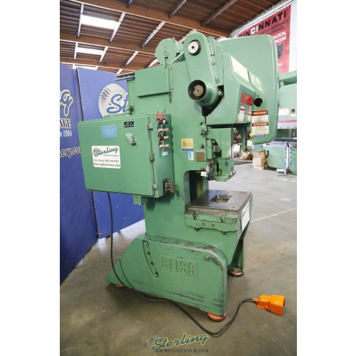 Used Bliss O.B.I. Punch Press C-35