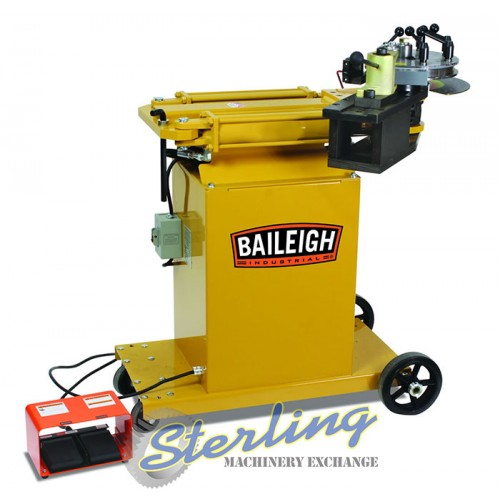 Brand New Baileigh Hydraulic Rotary Draw Tube & Pipe Bender RDB-150