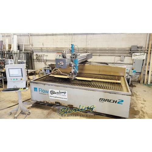 Used Flow CNC Waterjet Cutting System (GUARANTEED BY FLOW DEALER!) Cut Metal, Stone, Glass, Tile Mach2 2031B